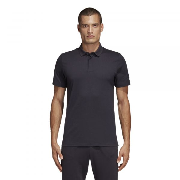 MH Plain Polo Black