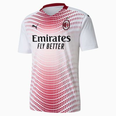Ac Milan Away Shirt White-red