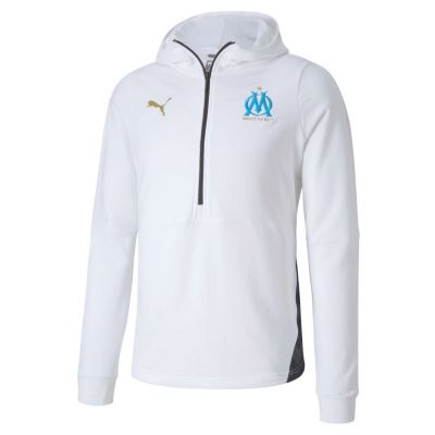 Marseille Casuals Hoody White
