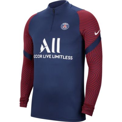 PSG Nk Dry Drill Top Mnavy-Whi