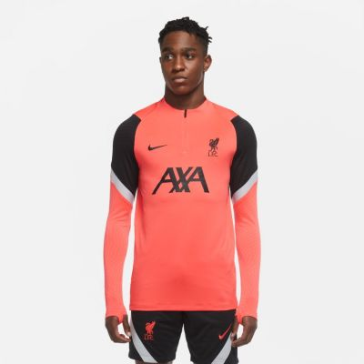Liverpool Drill Top Red/Grey 2