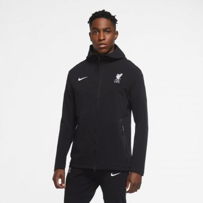 iverpool  Tech Pack Hoody Blac