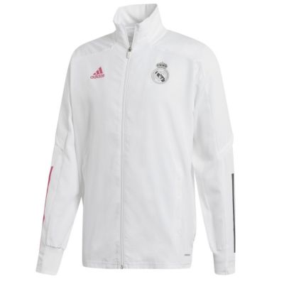 Real Madrid Pre Jacket White 2