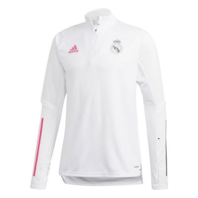 Real Madrid Training Top White