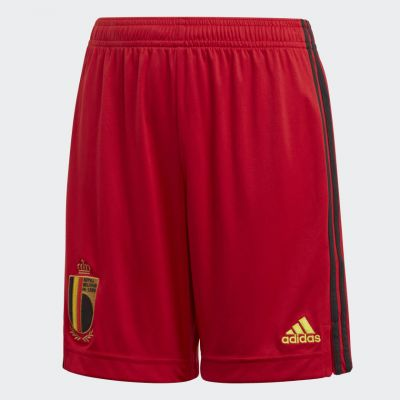 RBFA H Short JR Rouge Euro20.